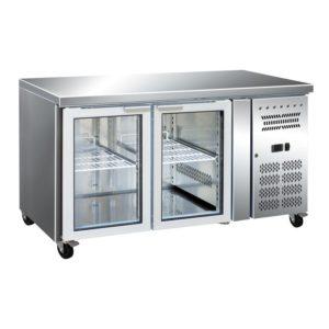 Image for the Borrelli Glass Counter Fridge 314ltr – 2 Doors