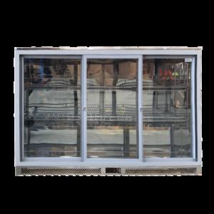 Elite Bar Fridge Stainless Steel 3 Door BC-320S-SS-E